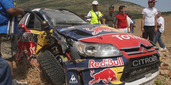 WRC: Sordo perdió su oportunidad en la 2ªetapa de Grecia