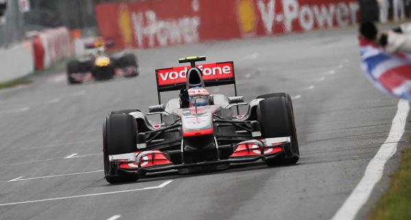 F1: Button se lleva el triunfo en Canadá