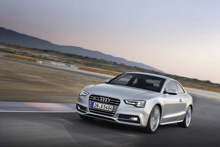 Restyling del Audi A5.