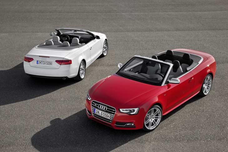 Restyling del Audi A5.