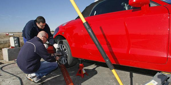 Circulamos con los neumáticos poco inflados
