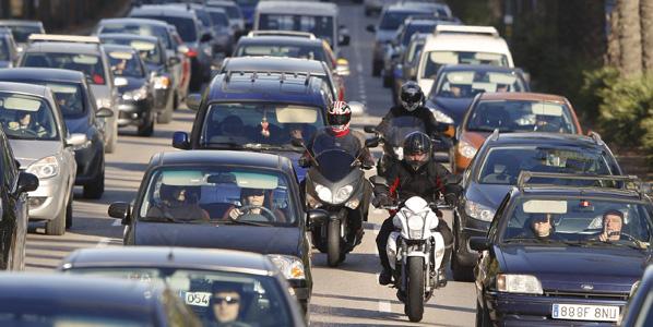 Barcelona marea a sus conductores