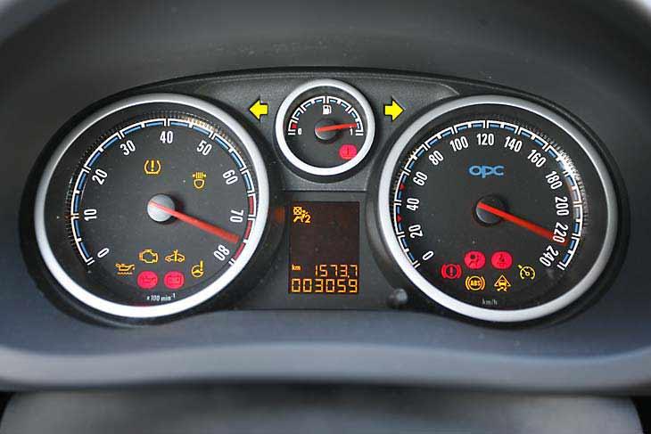 Opel Corsa OPC: interiores
