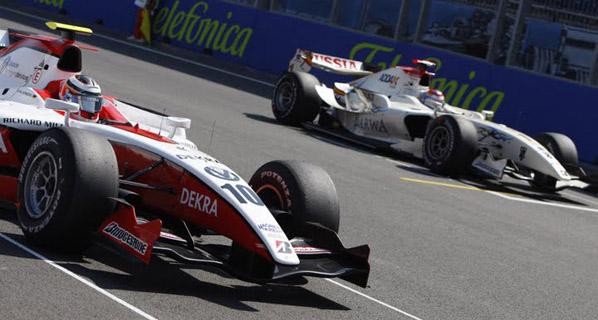 GP2 Monza: Hulkenberg sentencia el título