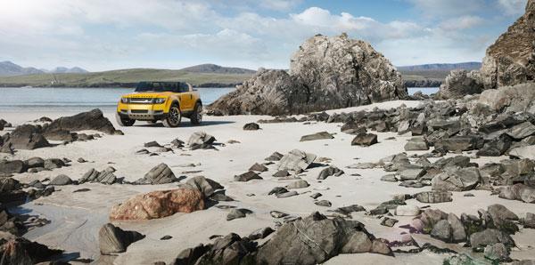 Land Rover Defender DC100 y DC100 Sport