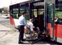 Los autobuses no tratan bien a los discapacitados