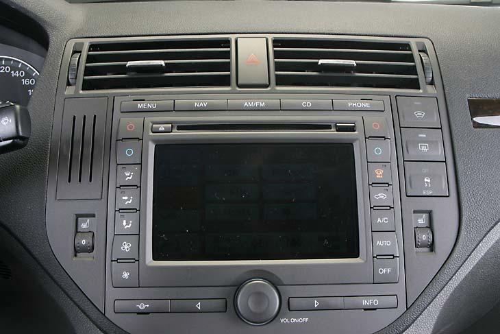 Ford Focus C-Max interior