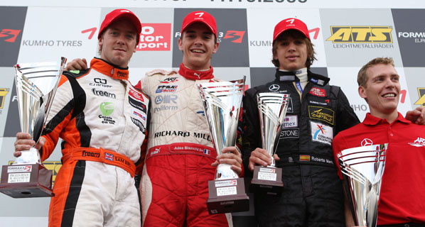 F3 Euroseries: Jules Bianchi se proclama campeón