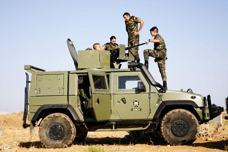 Vehículos blindados: Iveco LMV