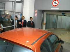 Madrid ya tiene un aparcamiento robotizado