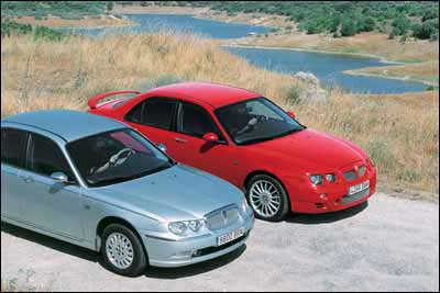 Comparativa: Rover 75 2.5 V6 Club / MG ZT 190