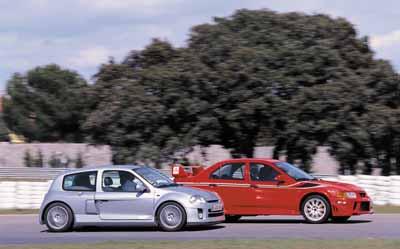 Mitsubishi Carisma EVO VI / Renault Clio Sport V6 24v