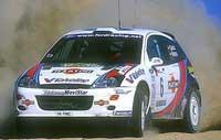 Carlos Sainz lidera la primera etapa del Rally de Chipre