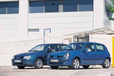 Comparativa: Renault Clio 1.5 dCi / Seat Ibiza 1.9 SDi