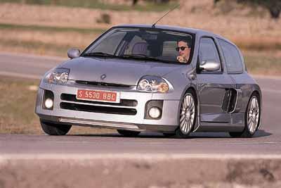 Renault Clio Sport V6 Pruebas De Coches Autopista Es