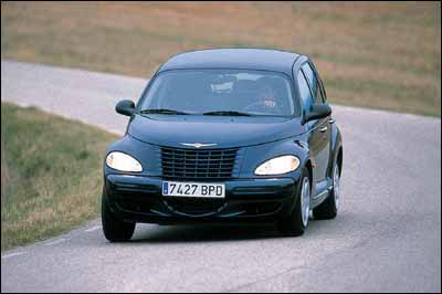 Chrysler PT Cruiser 1.6 vs Mini One vs Volkswagen New Beetle V5
