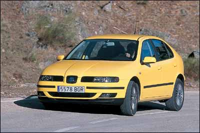 Fiat Stilo Abarth / Honda Civic Type-R / Seat León 1.8 T / Volkswagen Golf V5 Tiptronic
