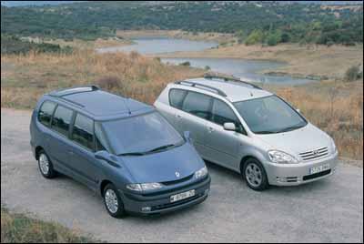 Comparativa: Toyota Avensis Verso D4-D / Renault Espace 1.9 dTi