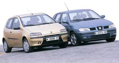 Comparativa: Fiat Punto 1.9 JTD HLX 3p / Seat Ibiza 1.9 Tdi Stella 90 CV / Peugeot 206 HDI 90CV