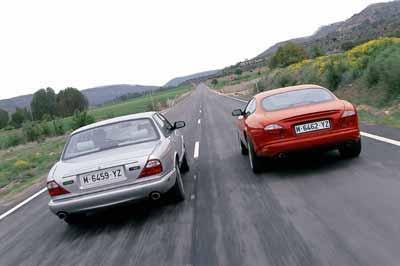 Jaguar XKR / Jaguar XJR SVO