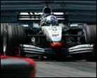 Coulthard no teme a Schumacher