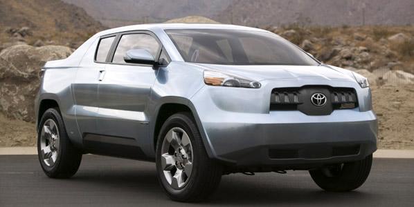 Toyota A-BAT Concept, un pick-up ecológico y práctico
