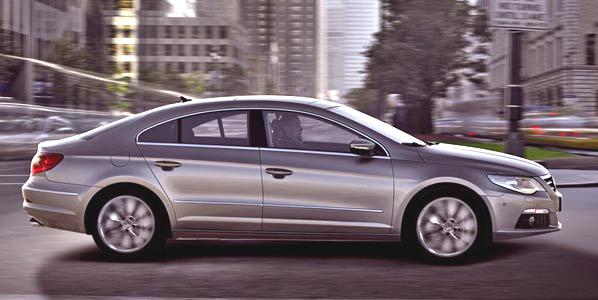 Volkswagen Passat CC, el Coupé de cuatro puertas