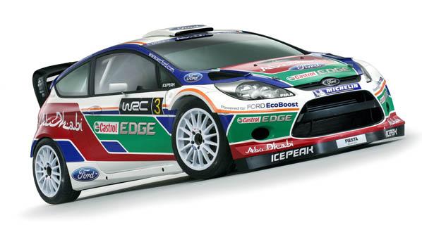 Presentado el nuevo Ford Fiesta WRC