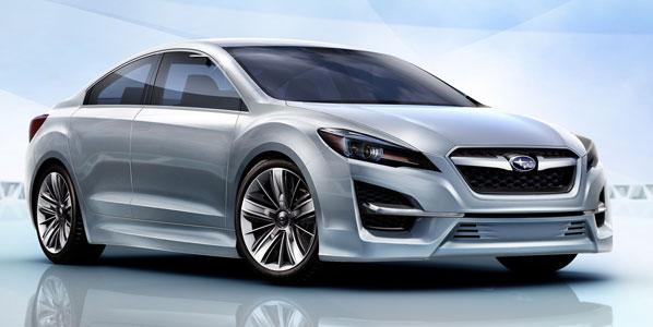 Subaru Impreza Concept y Subaru Trezia