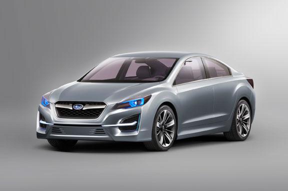Subaru Impreza y Subaru Trezia