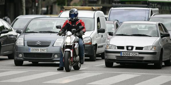 Cambios en el examen de moto