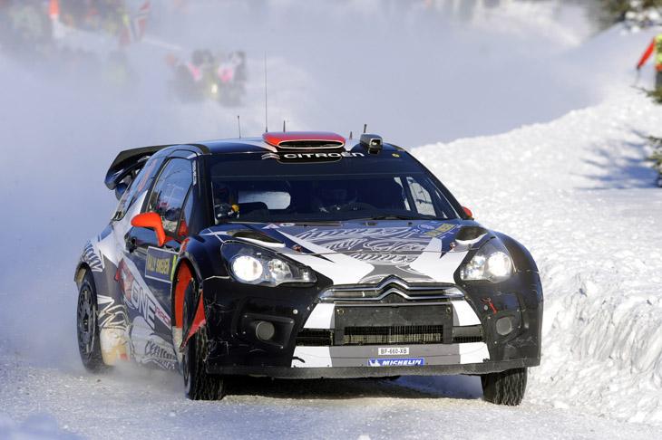 Rally de Suecia 2011.