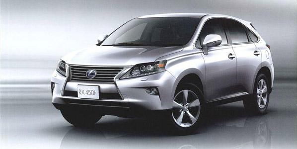 Lexus RX, debut en Ginebra