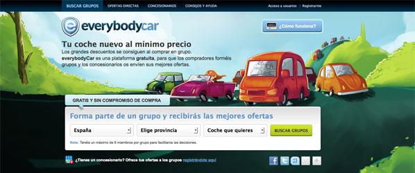 EveryBodyCar, la compra de vehículos en grupo