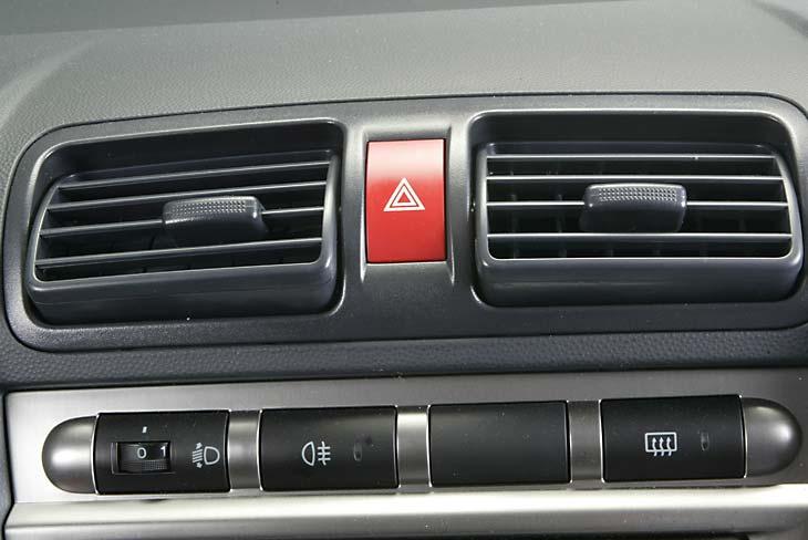 Kia Picanto CRDI interior