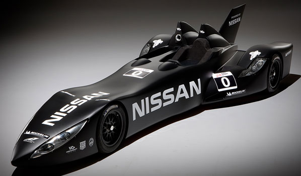 Nissan Deltawing, el 'batmóvil' de carreras
