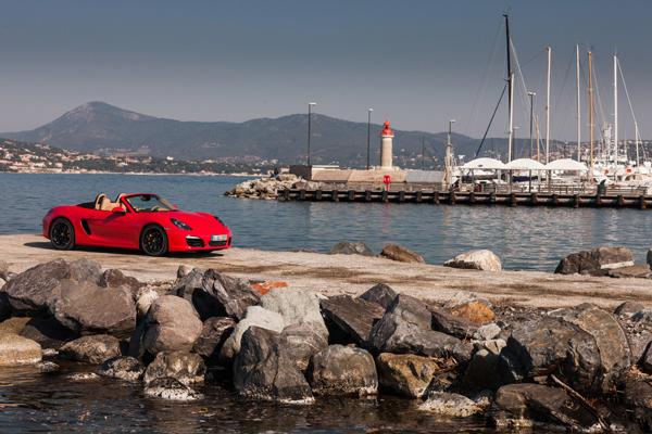 Porsche Boxter 2012 el contacto