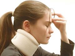El peligro del latigazo cervical