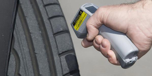 Neumático sin dibujo: 150 € de multa