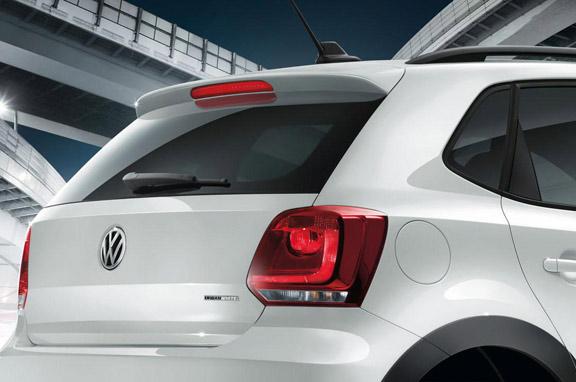 Volkswagen CrossPolo Urban White.