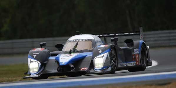 Peugeot y Marc Gené vencen en Le Mans