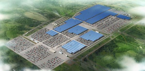 Proyecto fotovoltaico de Renault