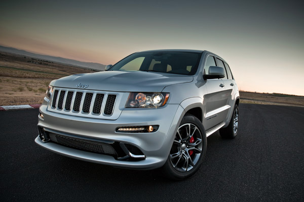 Jeep Grand Cherokee SRT, bestial