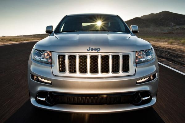 Jeep Grand Cherokee SRT, bestial
