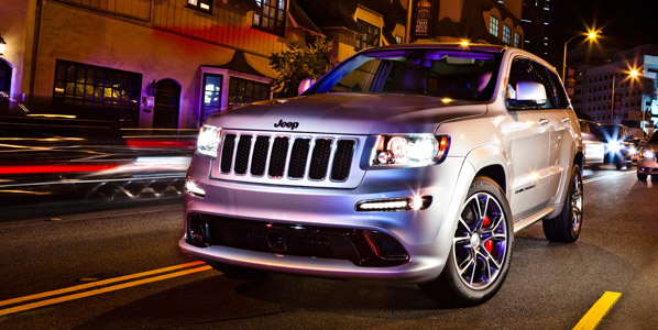 Jeep Grand Cherokee SRT, ¡bestial!