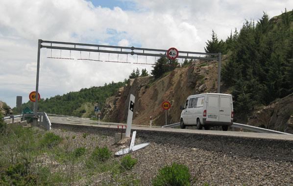 Tramos negros en las carreteras españolas