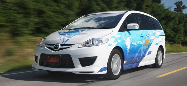 Mazda RX-8 Hydrogen RE y Premacy Hydrogen RE Hybrid