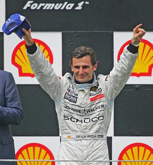 F1: De la Rosa deshoja la margarita