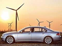 El BMW Hydrogen 7, a punto