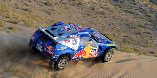 Carlos Sainz vence el Silk Way Rally